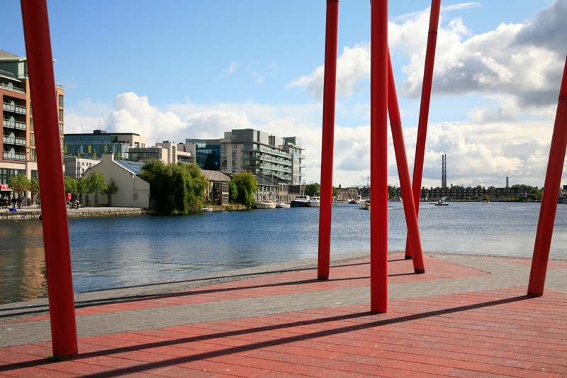 Grand Canal Dock area