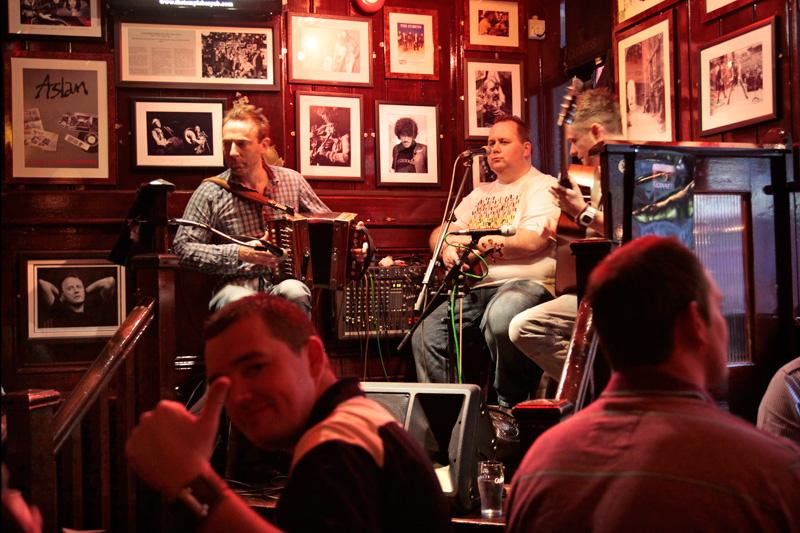 Irish Night à Temple Bar