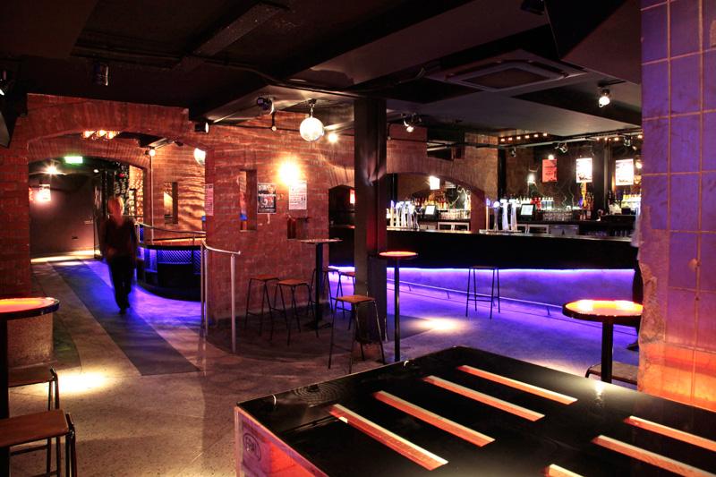 Le mythique 'Kitchen' Nightclub