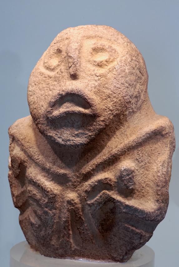 Etrange figure du mésolithique