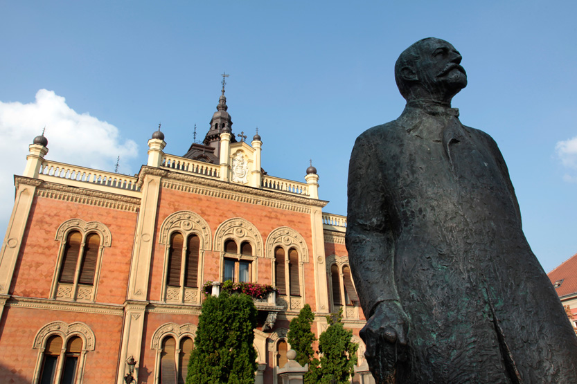 Novi Sad, capitale de Voivodine