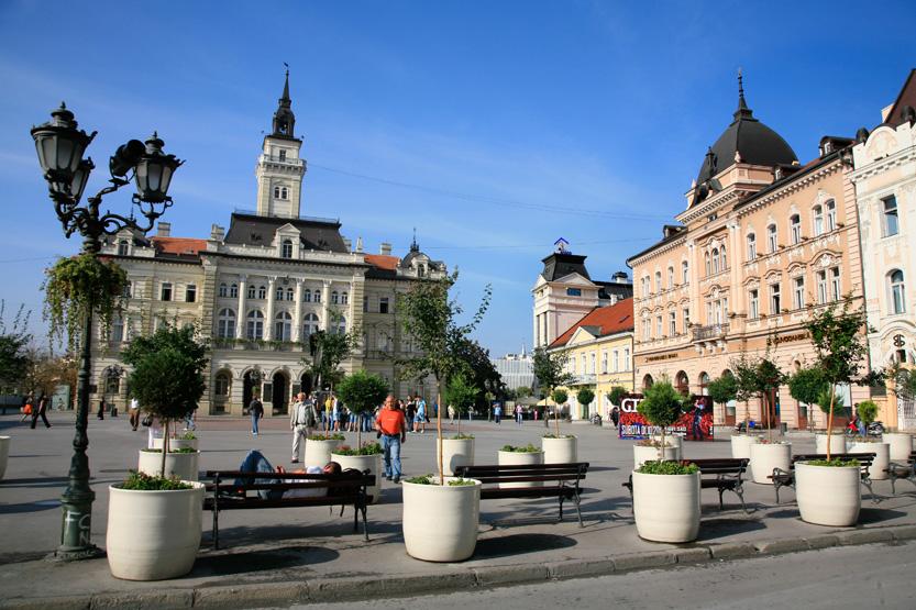 Hotel de ville de Novi Sad