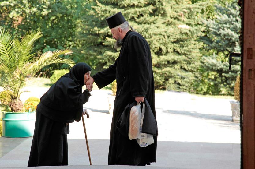 None rendant hommage à un pope, Grgeteg Mon.