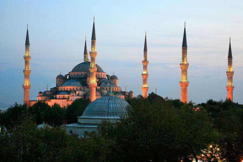 Sublime mosquée bleue