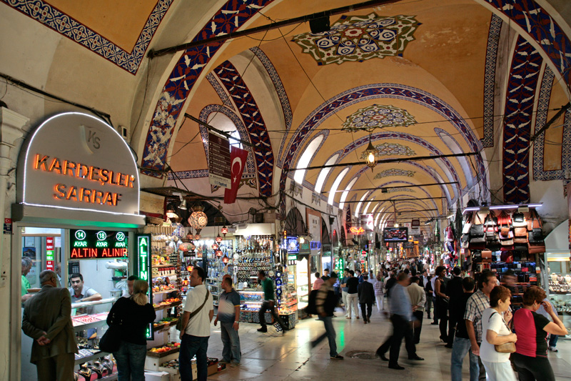 Les galeries renovées du Grand Bazaar