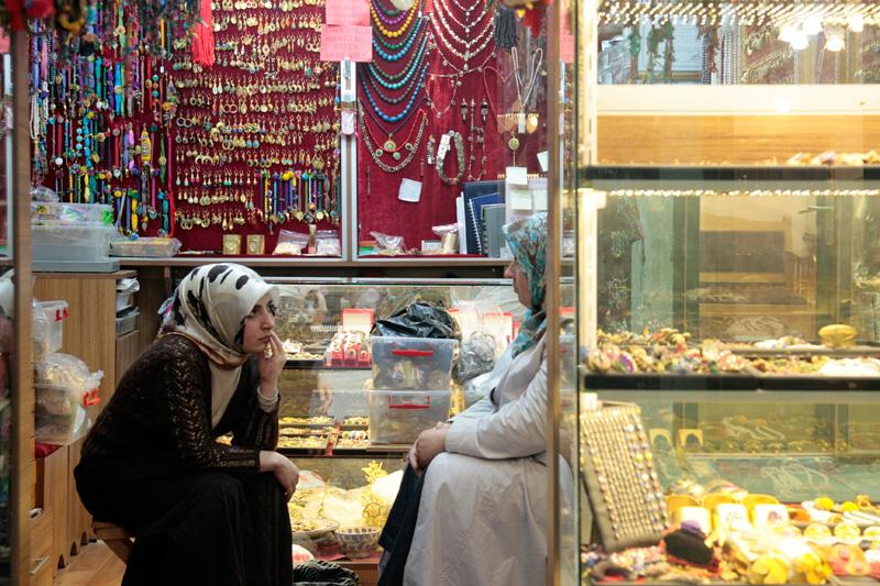 Bijoux & palabres au Grand Bazaar