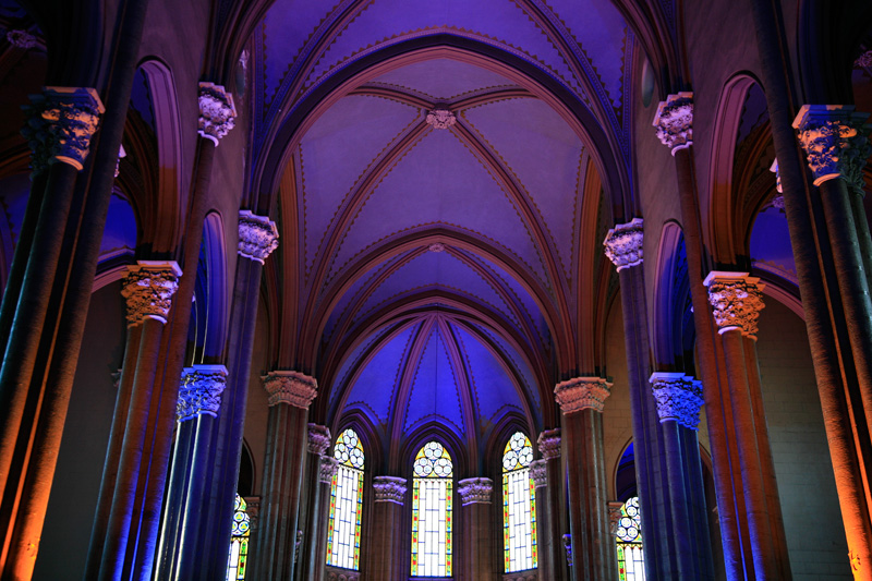 Eglise San Antoine de Padoue dans l'Avenue Istiklal (Beyoglu)