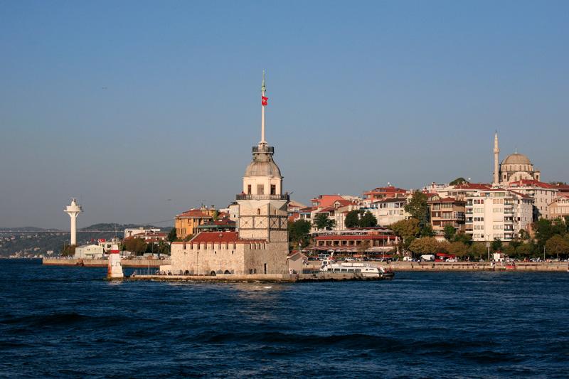 La tour de Leandre (Kiz kulesi) sur un tout petit ilot