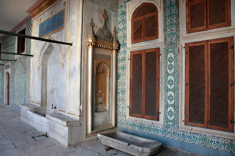 Topkapi, la cour des eunuques