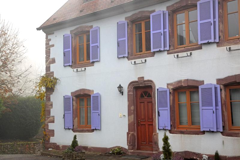 Maison dans le village de La Petite Pierre