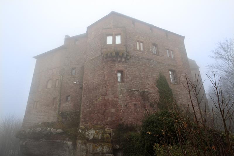 Château fortifié par Vauban à La Petite Pierre