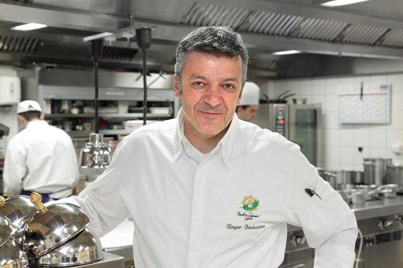 Roger Bouhassoun, 1 des 2 chefs de la Chenaudière