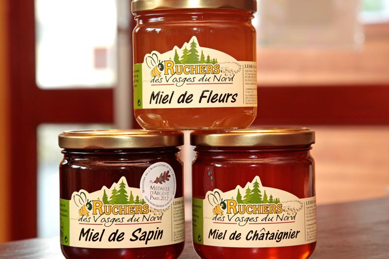 Miels du Rucher des Vosges à Struth (Pays de la Petite Pierre)