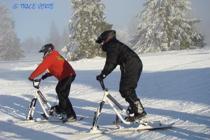 Snowscoot avec 'Trace Verte'