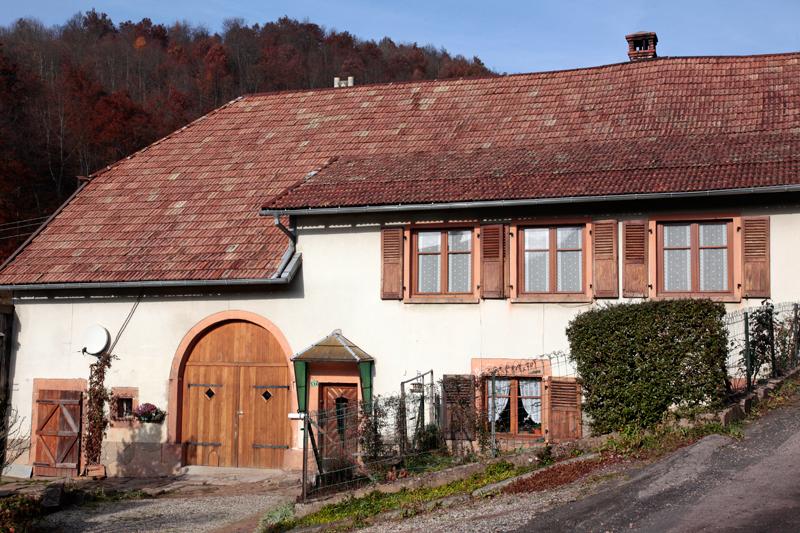 Architecture vosgienne à Wildersbach