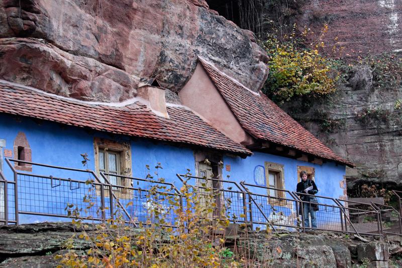 La Maison des Roches à Graufthalm