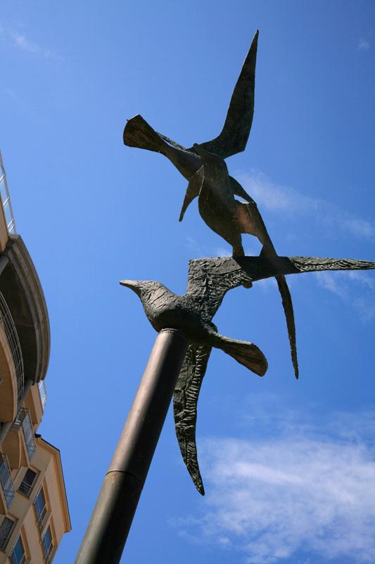 """Les oiseaux s'y """"bronze"""""""