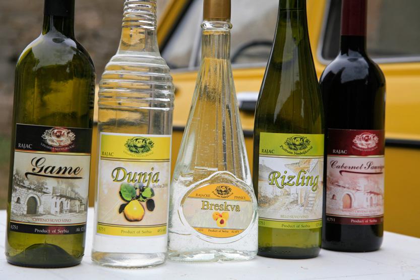 Alcools de Rajac