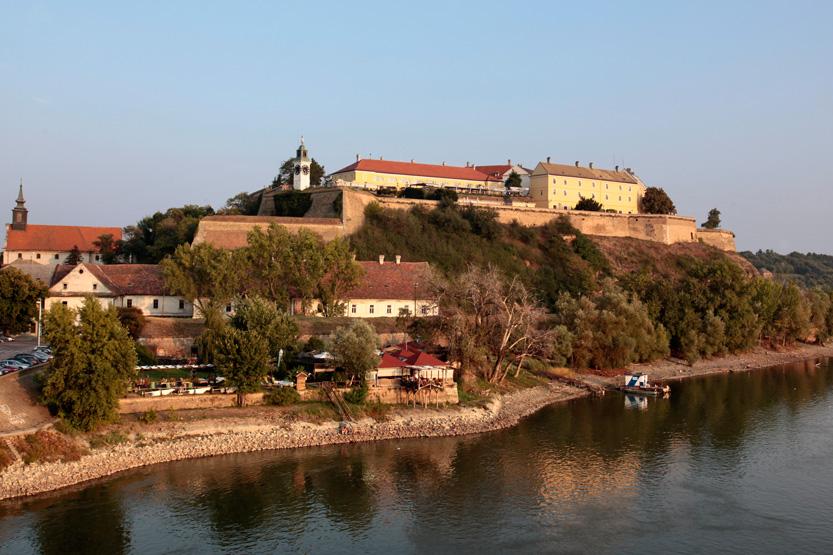 Forteresse Petrovaradin de Novi Sad