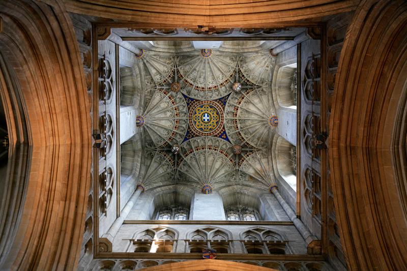 Interior of Cathedral, Canterbury