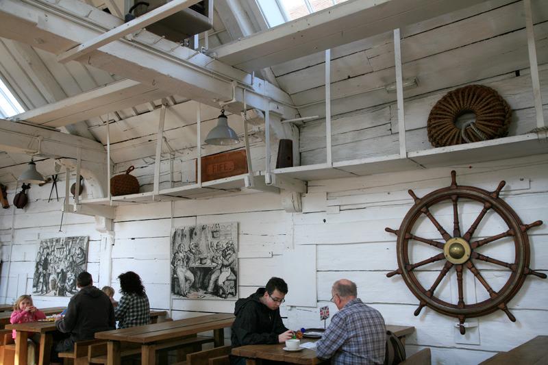 Chattam Historic Dockyards (restaurant)