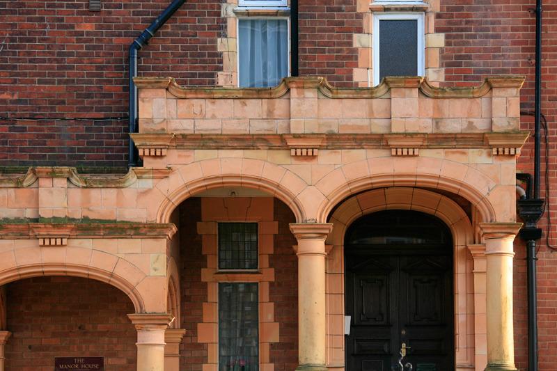 Architecture dans le quatier The Leas, hauteurs de Douvres