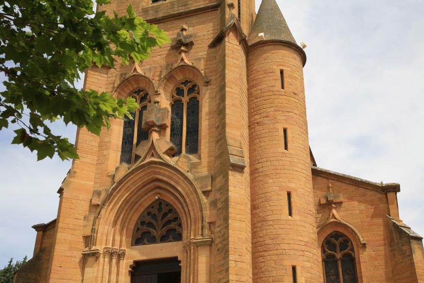 Eglise de Thiezé en Beaujolais