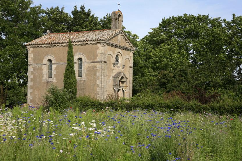 Chapelle privée, Domaine de la Bouronière à Fleurie