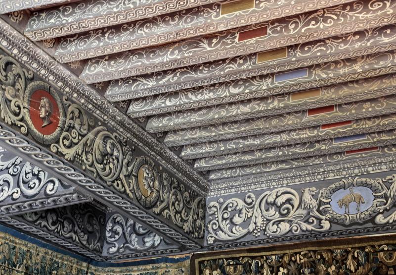 Plafonds peints à la Bastie d'Urfé