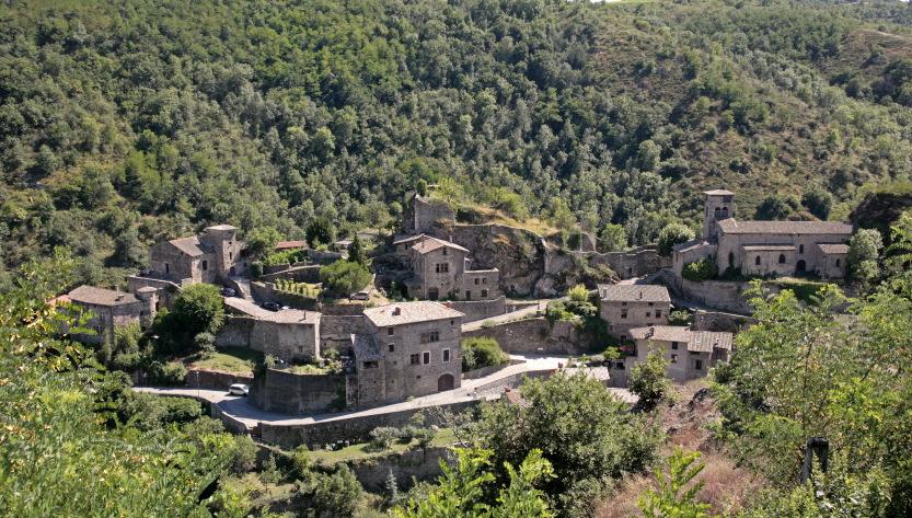 Village médiéval de Malleval dans le Pilat