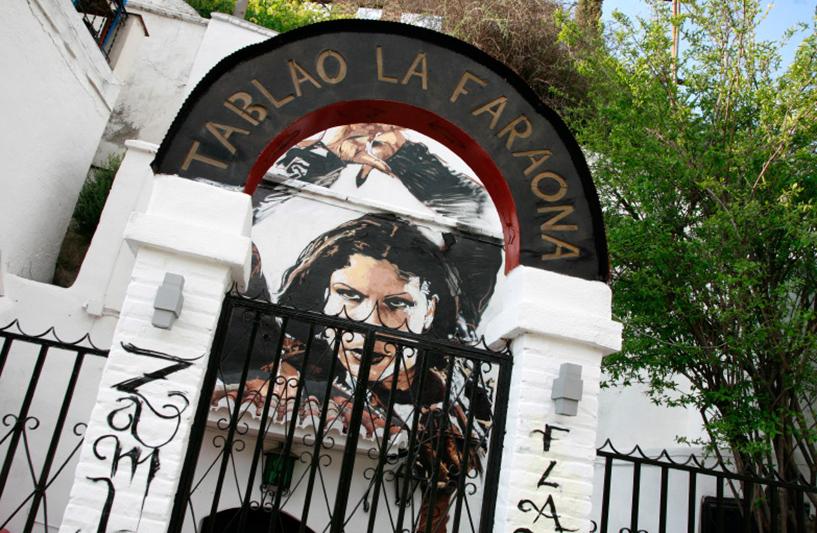 le quartier de Sacromonte et du flamenco