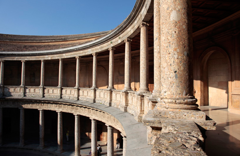 Le Palais de Charles Quint, Alhambra, Grenade
