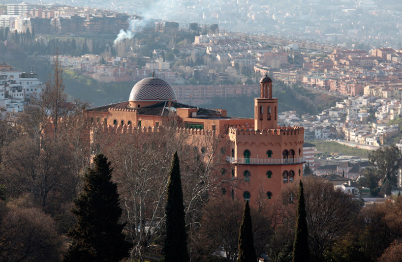 sur les merveilles de l'Alhambra