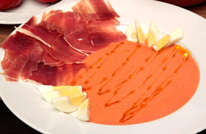 déjeuner à la Taverna Sociedad de Plateros