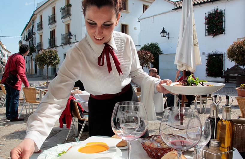 restaurant Puerta Sevilla, Cordoue