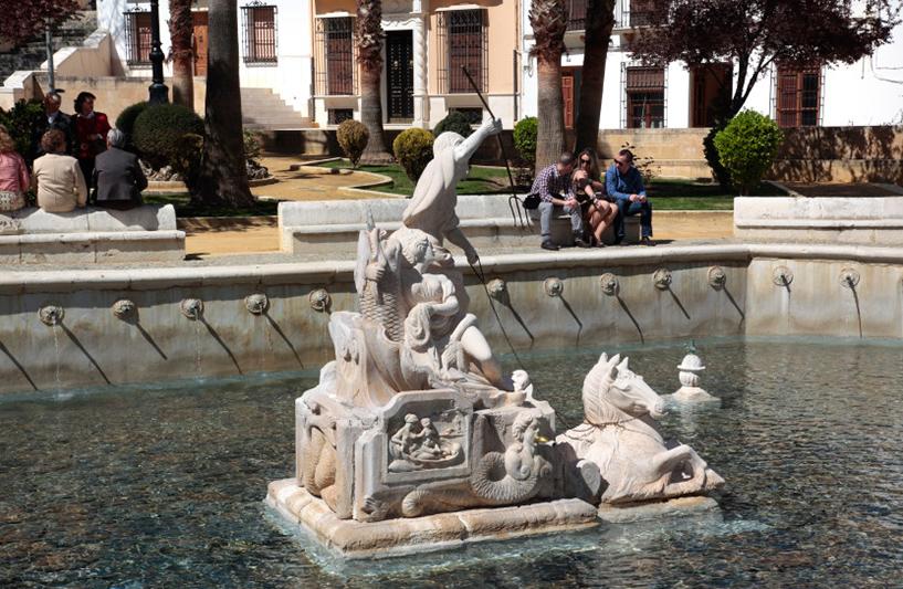 La fontaine du Roi à Priero de Cordoba