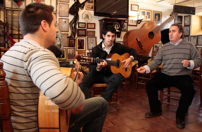 et une session acoustique privée dans un petit bar