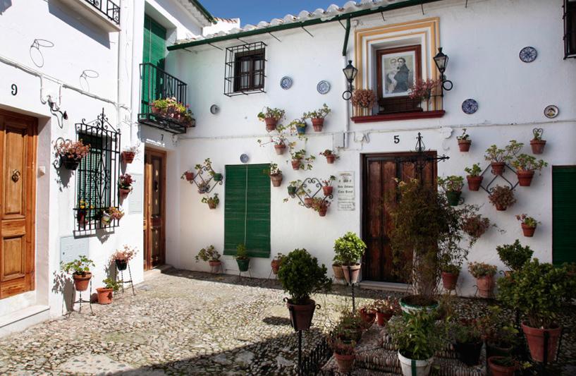 Priero de Cordoba, coquet patio