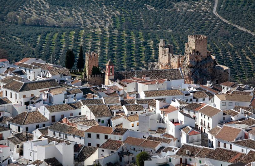 Village maure de Zuheros