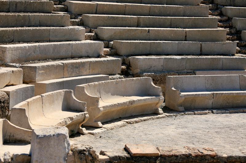Célèbre théâtre d'Epidaure