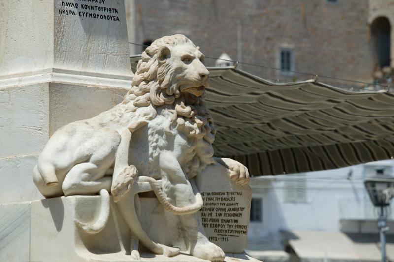 Le lion d'Hydra