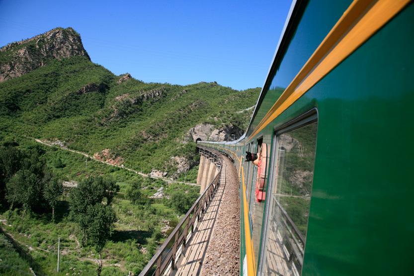 Parti de Pékin, le Transsibérien côté chinois