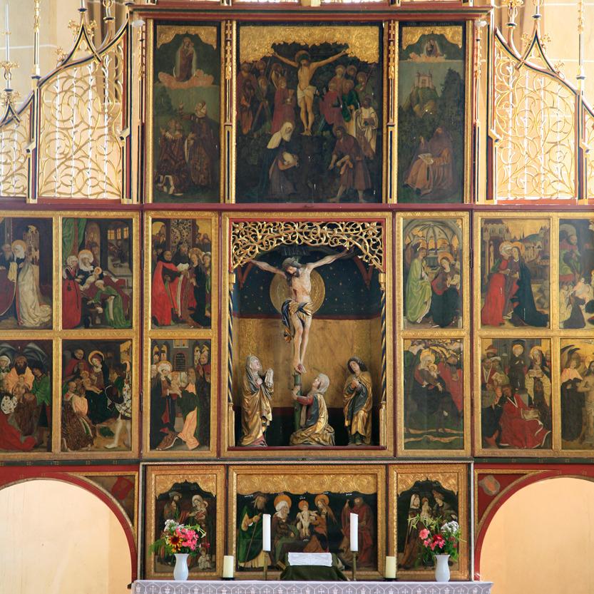 Tryptique, Eglise de Biertan