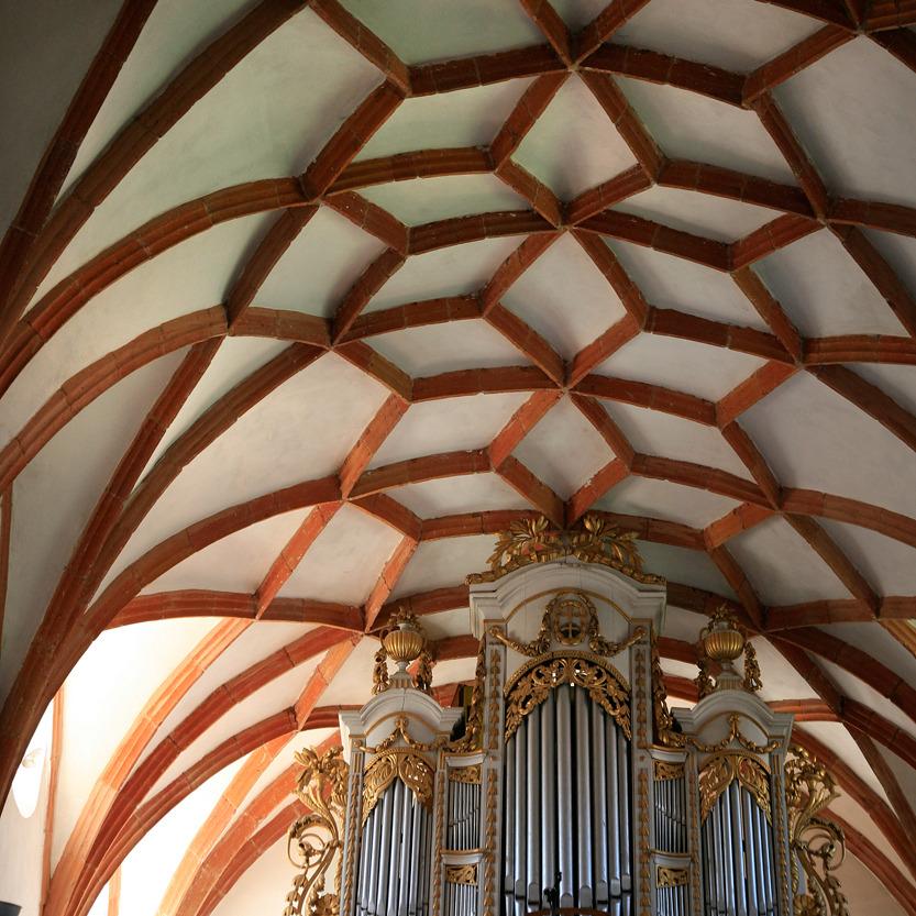 Orgue dans l'église du Fort de Prejmer