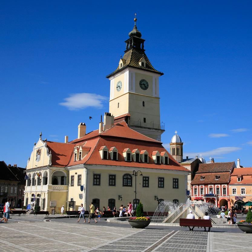 Brasov, perle baroque de Transylvanie