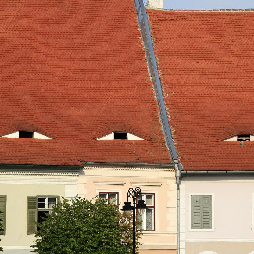 Clin d'œil architectural de Sibiu !