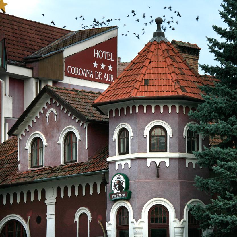 L'hôtel de la Couronne d'or à Bristita
