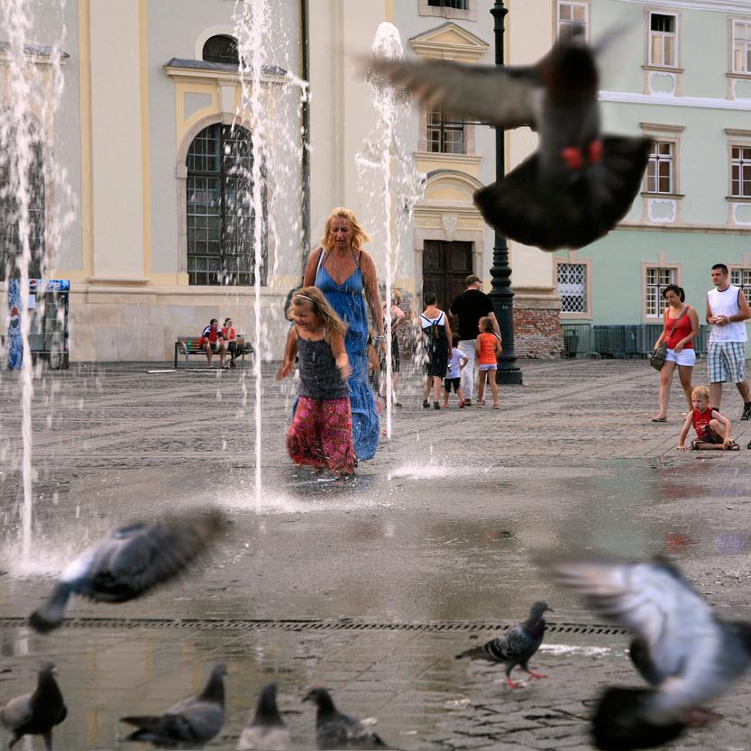 La Grand'Place de Sibiu
