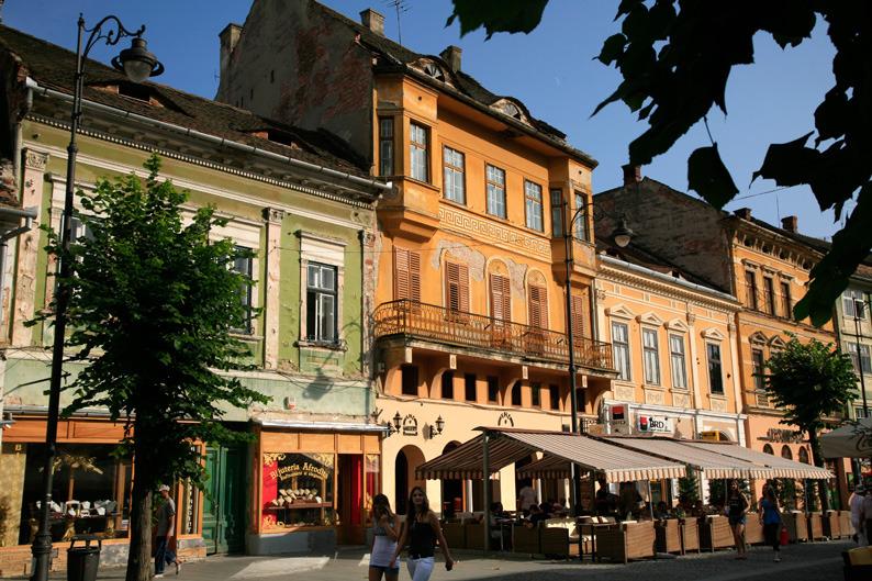 Sibiu, belle saxonne de Transylvannie