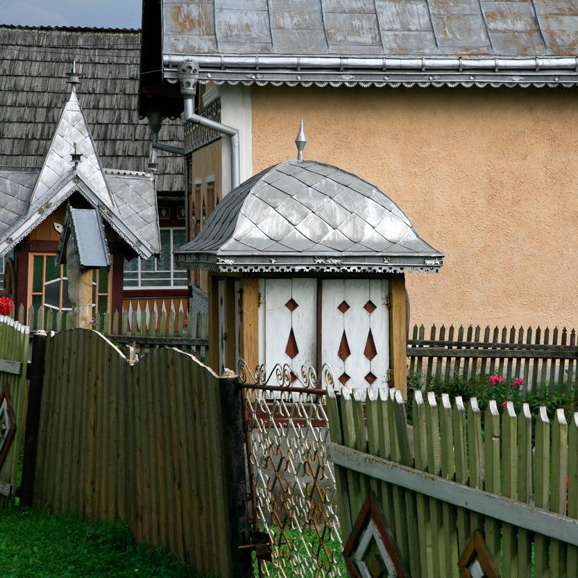 Ciaconesti, l'extrême beauté de l'architecture rurale moldave